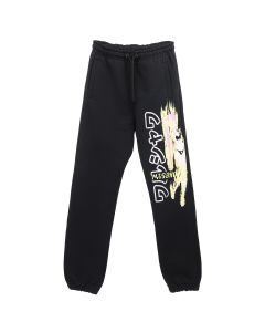 MISBHV ON FIRE SWEATPANTS / BLACK