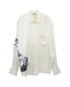 MAGLIANO MANIFESTO TWISTED SHIRT / 028 : IVORY
