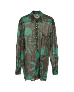 MAGLIANO PARTY SHIRT TOUCHING THINGS / 088 : RUST