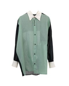 MAGLIANO SHEER PARTY SHIRT / 084 : MINT