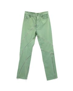 MAGLIANO ZIPPED PANTS / 076 : GREEN