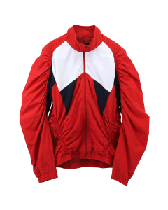 Martine Rose PANELLED RUCHED TRACK / RED