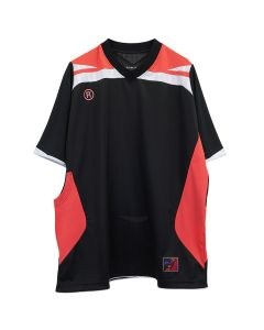 Martine Rose TWO-WAY FOOTBALL TOP / BLACK-PINK