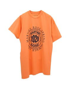 Martine Rose TWO-WAY T-SHIRT / ORANGE