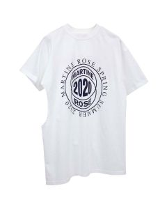 Martine Rose TWO-WAY T-SHIRT / WHITE