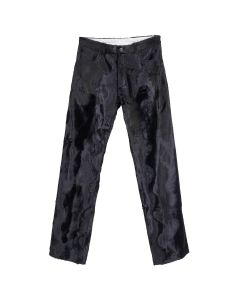 Martine Rose STRAIGHT LEG TROUSER / BLACK