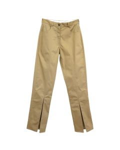 Martine Rose FRONT SPLIT TROUSER / BEIGE