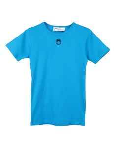 MARINE SERRE MINIFIT SHORT SLEEVE T-SHIRT / 10 : BLUE