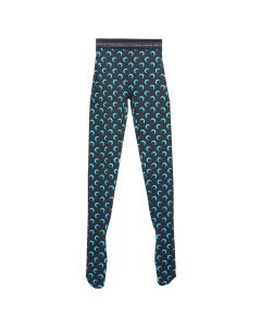 MARINE SERRE JERSEY LEGGINGS / 12 : ALL OVER MOON BLUE