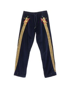maharishi SUKA TRACKPANTS / NAVY-GOLD