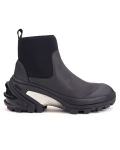 1017 ALYX 9SM MID BOOT WITH FIXED SOLE / BLK0001 : BLACK