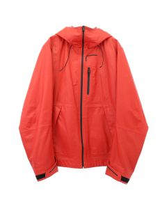 1017 ALYX 9SM SHELL LEATHER JACKET / RED0001 : RED