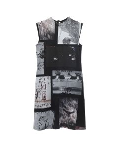1017 ALYX 9SM COLLAGE DRESS / BLK0001 : BLACK