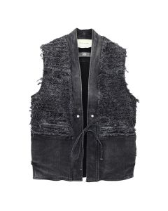 1017 ALYX 9SM BLACKMEANS DENIM VEST / BLK0001 : BLACK