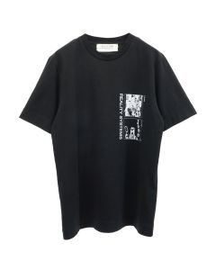 1017 ALYX 9SM GRID S/S TEE / MTY0001 : BLACK-GREY