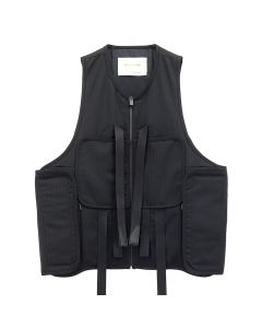 1017 ALYX 9SM MODERN TACTICAL VEST / BLK0001 : BLACK