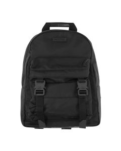 1017 ALYX 9SM BACKPACK W/DOUBLE FRONT POCKET / BLK0001 : BLACK