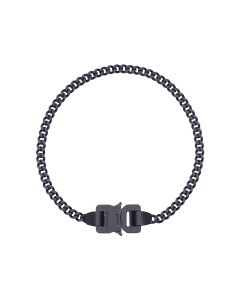 1017 ALYX 9SM CLASSIC CHAINLINK NECKLACE / BLK0001 : BLACK