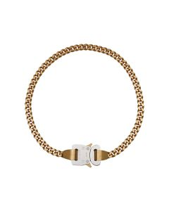 1017 ALYX 9SM CLASSIC CHAINLINK NECKLACE / GLD0001 : GOLD