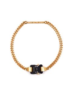 1017 ALYX 9SM BUCKLE NECKLACE 1017 ALYX 9SM BUCKLE NECKLACE / GLD0001 : GOLD