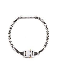 1017 ALYX 9SM 1017 ALYX 9SM BUCKLE NECKLACE / GRY0002 : SILVER