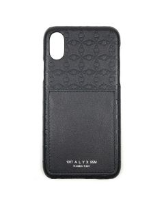"1017 ALYX 9SM """"""A""""LOGO I-PHONE CASE"" / BLK0001 : BLACK"