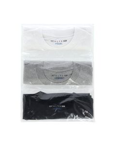 1017 ALYX 9SM 3 PACK TEE MULTICOLORS / MTY0001 : WHITE-GREY-BLACK