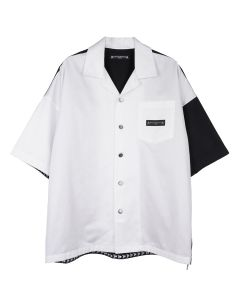MASTERMIND WORLD SH003-004 / 001 : WHITE-BLACK