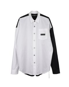 MASTERMIND WORLD SH005-004 / 001 : WHITE-BLACK