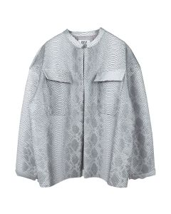 MAISIE WILEN JACKET / GREY SNAKE