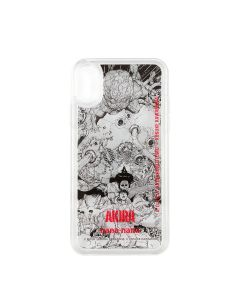 AKIRA ART OF WALL x nana-nana iPhone X/XS CASE / CLEAR