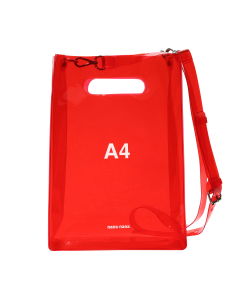 nana-nana A4 BAG / RED