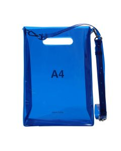 nana-nana A4 BAG / BLUE
