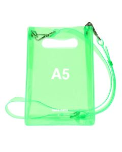nana-nana A5 BAG / NEON GREEN