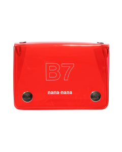 nana-nana PVC B7 BAG / RED