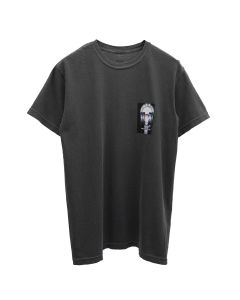 nana-nana TELEPHONE T-SHIRT / DARK GRAY