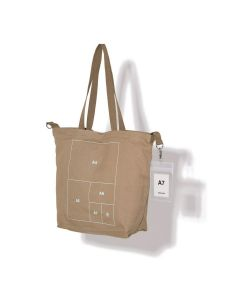 nana-nana PAPER BAG MEDIUM / KHAKI
