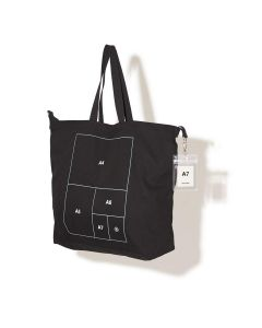 nana-nana PAPER BAG LARGE / BLACK