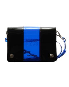 nana-nana PVC x OPAQUE B6 BAG / BLUE-BLACK