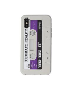 nana-nana Cali Thoenhill Dewitt iPhone CASE / CLEAR-L.GRAY