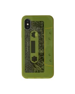 nana-nana So-Me iPhone CASE / YELLOW-GRAY