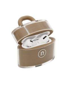 nana-nana NOT A PADLOCK AIR PODS CASE / BEIGE