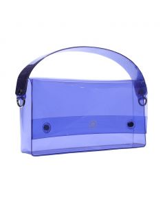 nana-nana PVC RECTANGLE BAG / LAVENDER