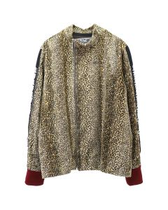 NEGLECT ADULT PATIENTS LEOPARD FAKE JERSEY TOPS / LEOPARD