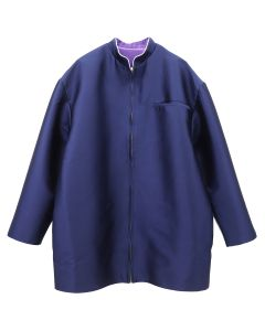 NEGLECT ADULT PATiENTS SCHOOL UNIFORM JACKET / NAVY-PURPLE
