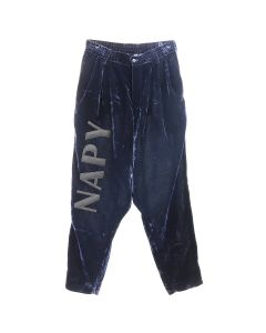 NEGLECT ADULT PATiENTS BONTANG PANTS / NAVY