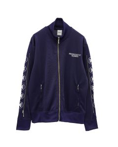 NEGLECT ADULT PATiENTS BOUTIQUE JERSEY JACKET / NAVY