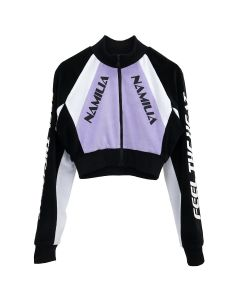 NAMILIA MOTODROSS VELOUR JACKET / LAVENDER PURPLE