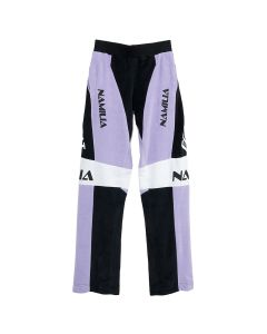NAMILIA MOTODROSS VELOUR PANTS / LAVENDER PURPLE