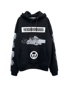 [お問い合わせ商品] NEIGHBORHOOD x Kostas Seremetis NHKS/C-HOODED.LS / BLACK